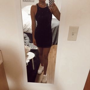 Navy Blue Tight Dress from Abercrombie & Fitch <3